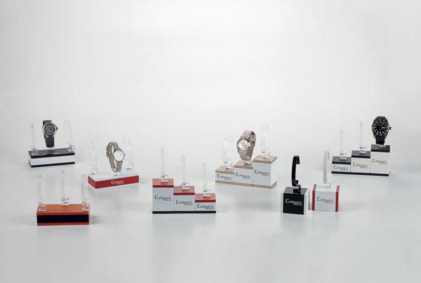 espositori modulari per vetrine